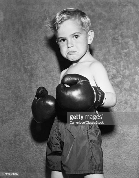 1950s TOUGH LOOKING YOUNG...
