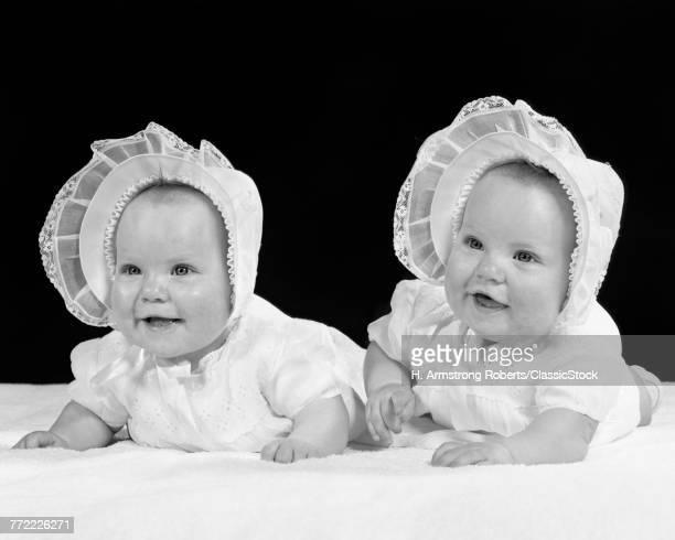 1950s TWIN BABY GIRLS...