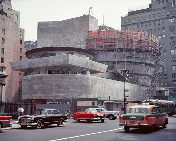 UNS: 21st October 1959 - The Opening Of NY's Guggenheim Museum