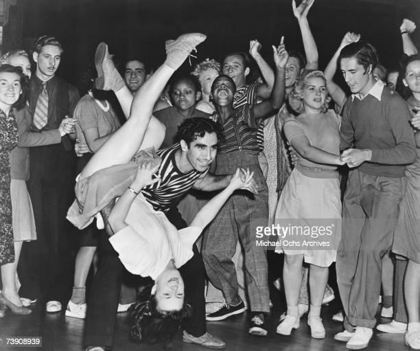 1950s USA Jitterbug Dancing