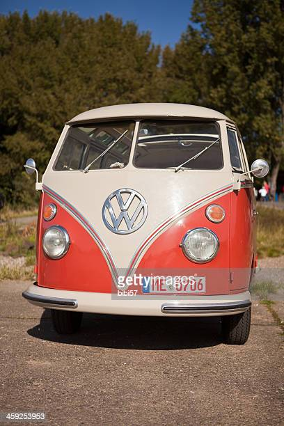 1950s vw bus - north rhine westphalia stock pictures, royalty-free photos & images