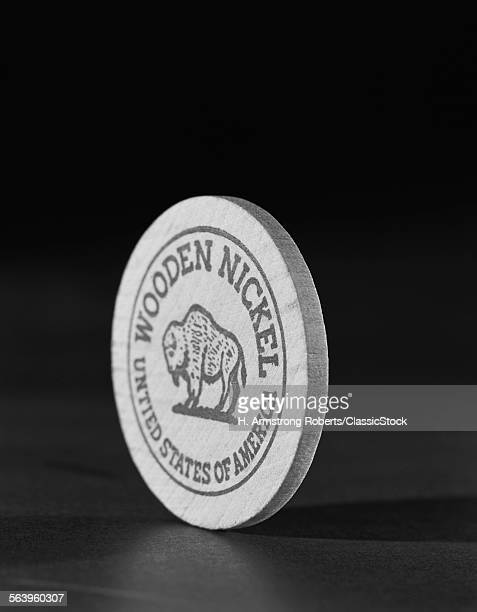 1950s WOODEN NICKEL