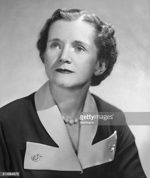 Rachel Carson American biologist and author.