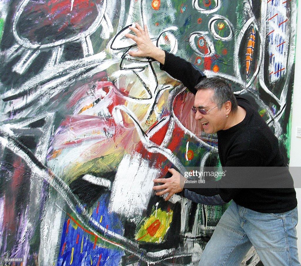 Künstler Maler Berlin schlangenbader künstler d pictures getty images