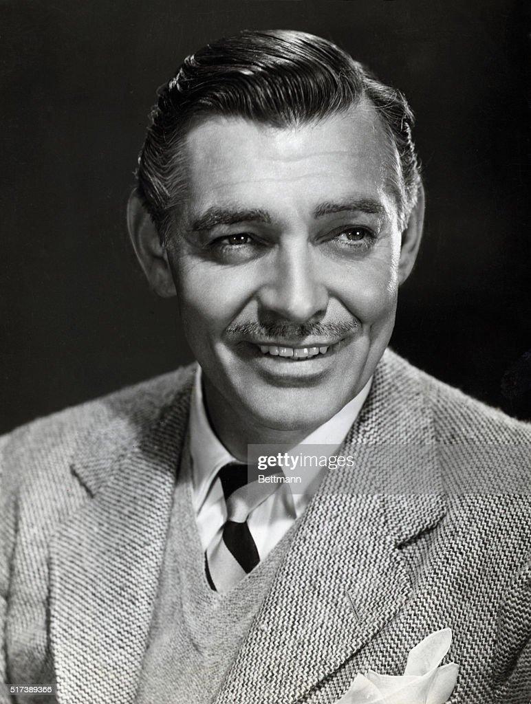 Clark Gable In Publicity Handout; 1954 : News Photo