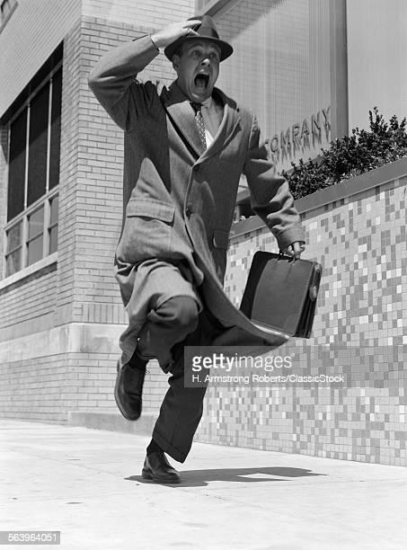 1960s 1950s FRANTIC MAN...