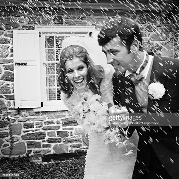 1960s 1970s BRIDE & GROOM...