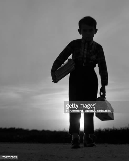 1960s 1970s SILHOUETTE OF...