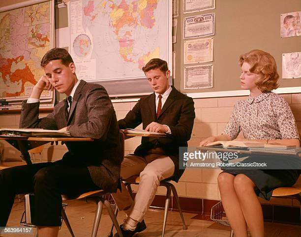 1960s 3 COLLEGE HIGH...