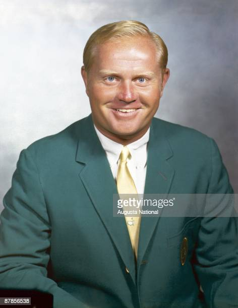 A Green Jacket Portrait of Jack Nicklaus at Augusta National Golf Club in Augusta Georgia