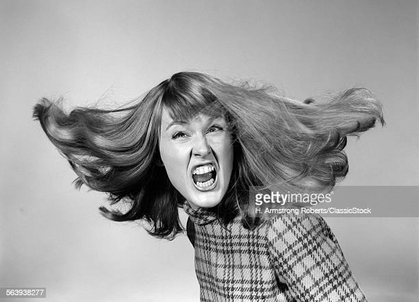 1960s ANGRY WOMAN YELLING...