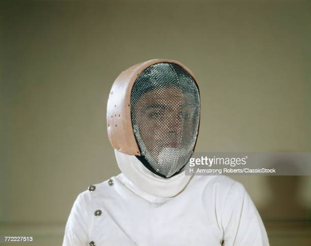 1960s ANONYMOUS FENCER...