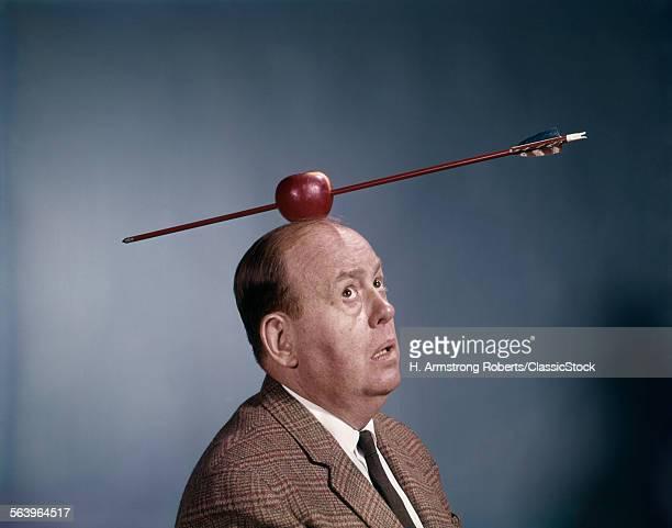 1960s ANXIOUS NERVOUS MAN...