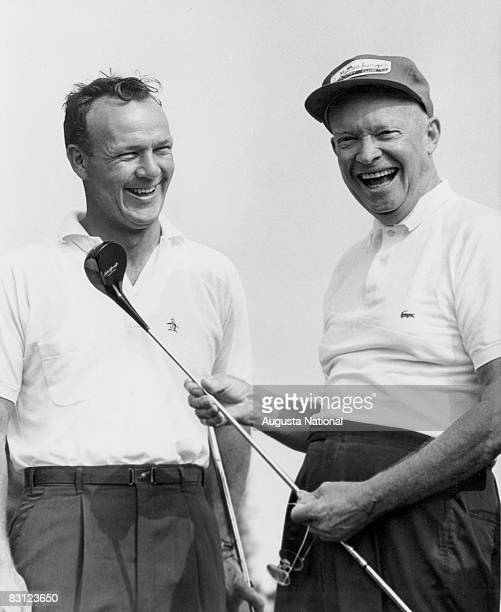 Arnold Palmer And President Dwight D Eisenhower