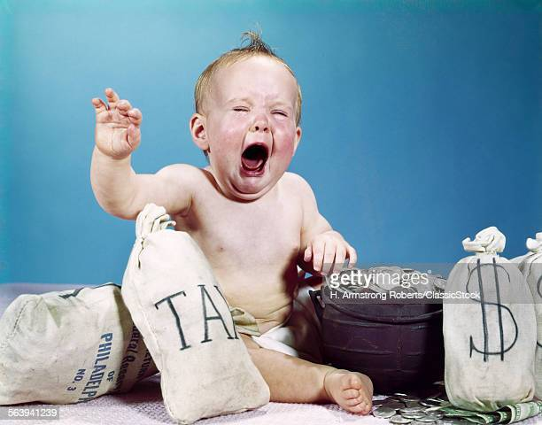 1960s BABY CRYING SHOUTING...