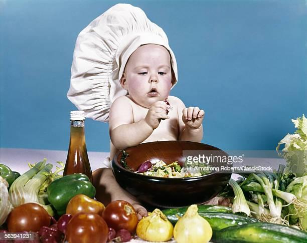 1960s BABY MAKING SALAD...