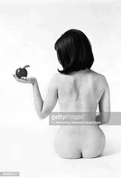1960s BACK VIEW OF NUDE...