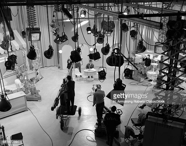 1960s BEHIND-THE-SCENES...