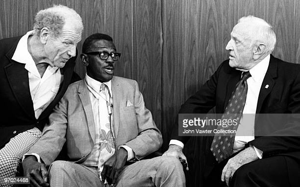 Bill Veeck former major league and negro league pitcher Leroy Satchel Paige and former major league player and manager Charles Dillon Casey Stengel...