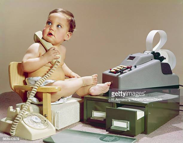 1960s BUSINESS BABY...