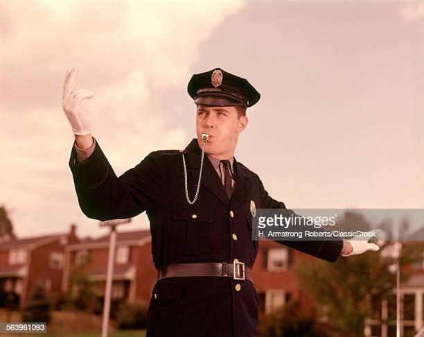 1960s COP POLICEMAN...