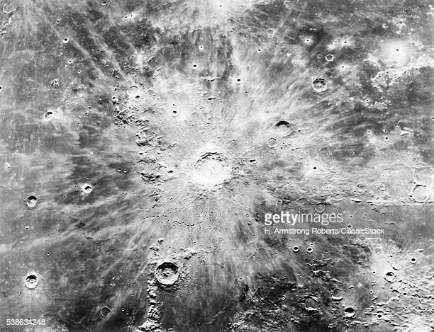 1960s CRATERS ON LUNAR...