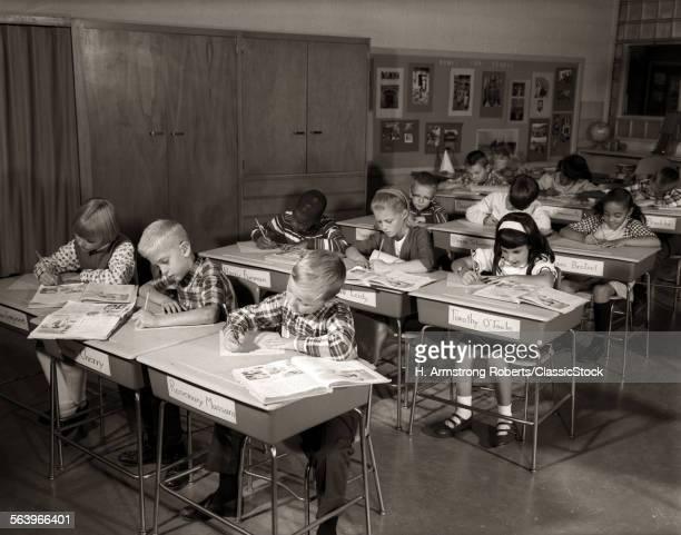 1960s ELEMENTARY CLASSROOM...