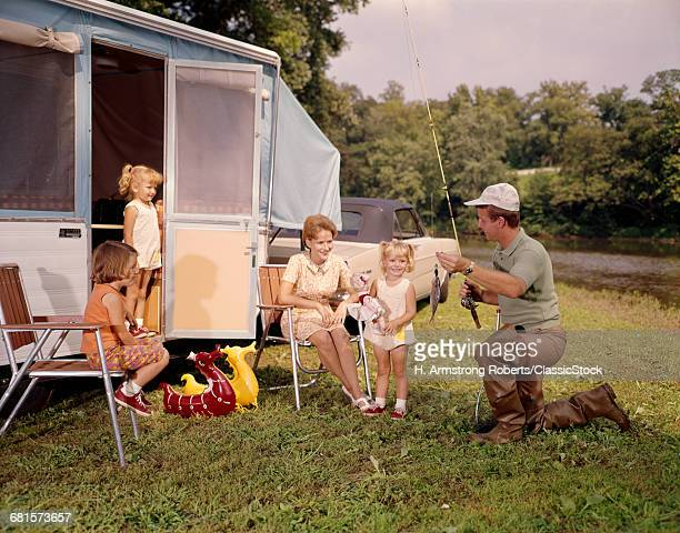 1960s FAMILY WITH THREE...