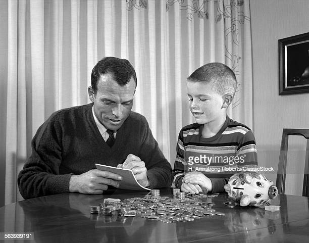 1960s FATHER SON WITH...