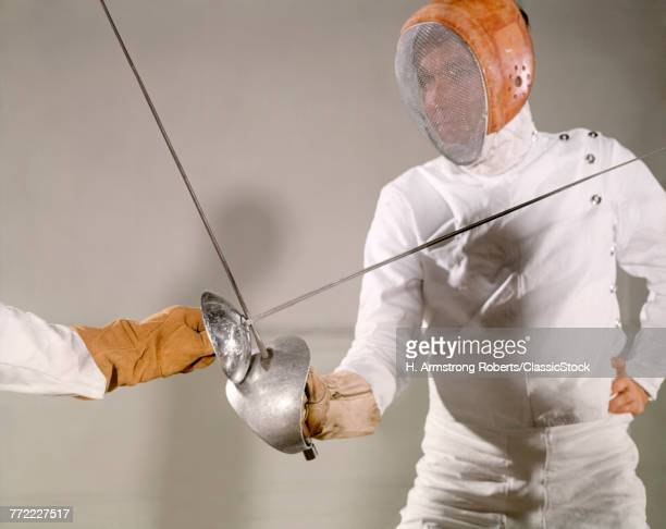 1960s FENCING MATCH SILVER...