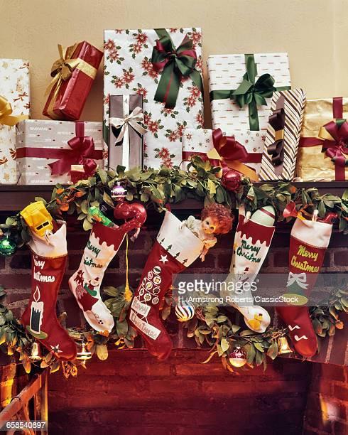 1960s FIVE CHRISTMAS...