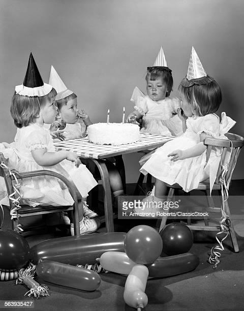 1960s GIRL QUADRUPLETS...