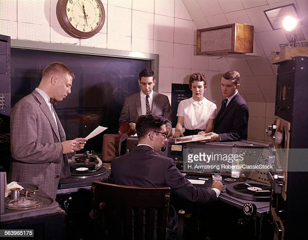 1960s GROUP OF 5 PEOPLE IN...