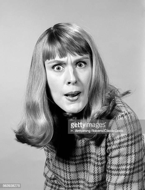 1960s HEAD SHOT ANGRY...