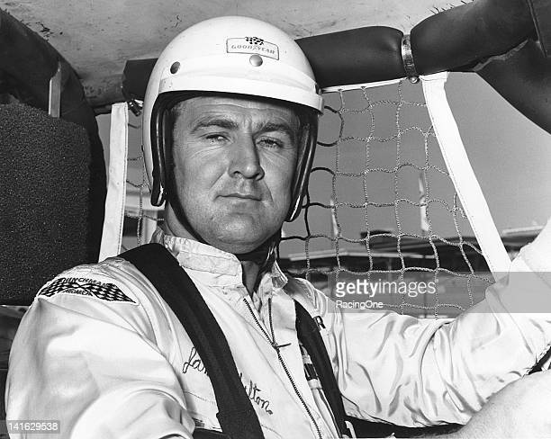 "James Hylton before a NASCAR Cup race at Daytona International Speedway Hylton was one of the top ""independent"" drivers on the Cup tour between 1966..."