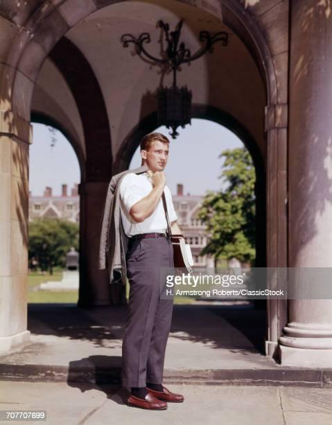 1960s MALE COLLEGE STUDENT...