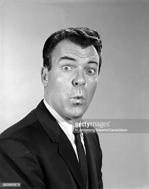 1960s MAN SUIT TIE MAKING...