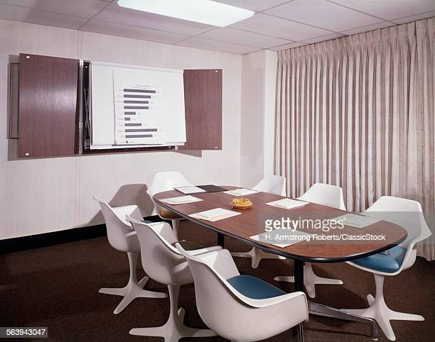 1960s OFFICE CONFERENCE...