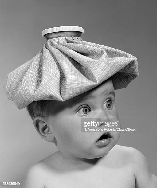 1960s PORTRAIT BABY WIDE-EY...