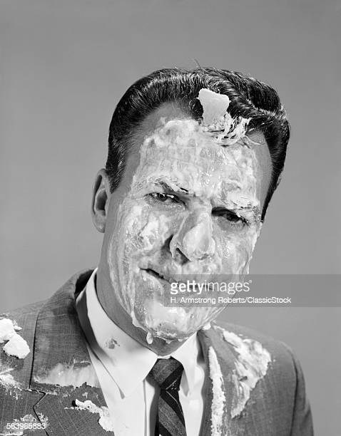 1960s PORTRAIT MAN COVERED...