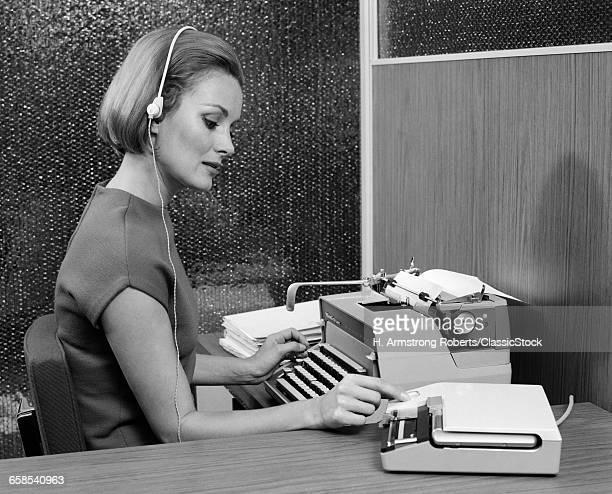 1960s PROFILE OF SECRETARY...