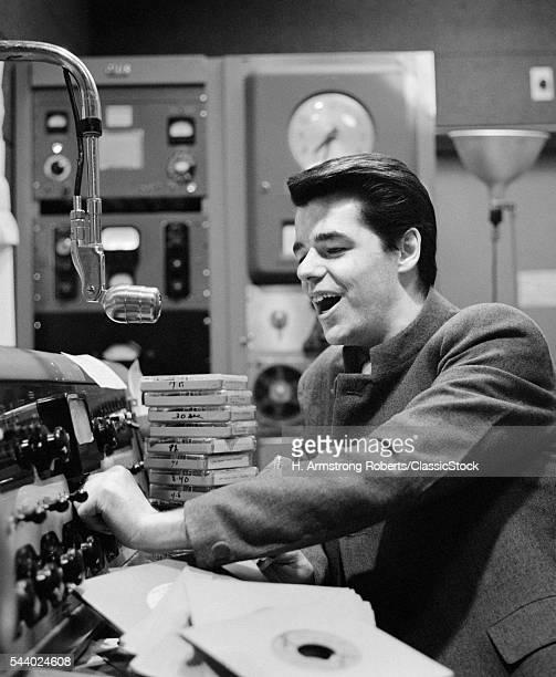 1960s RADIO DISC JOCKEY IN...