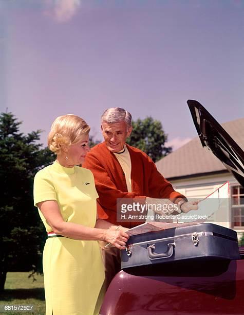 1960s RETIRED COUPLE...