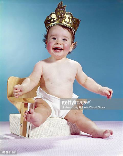 1960s SMILING HAPPY BABY...