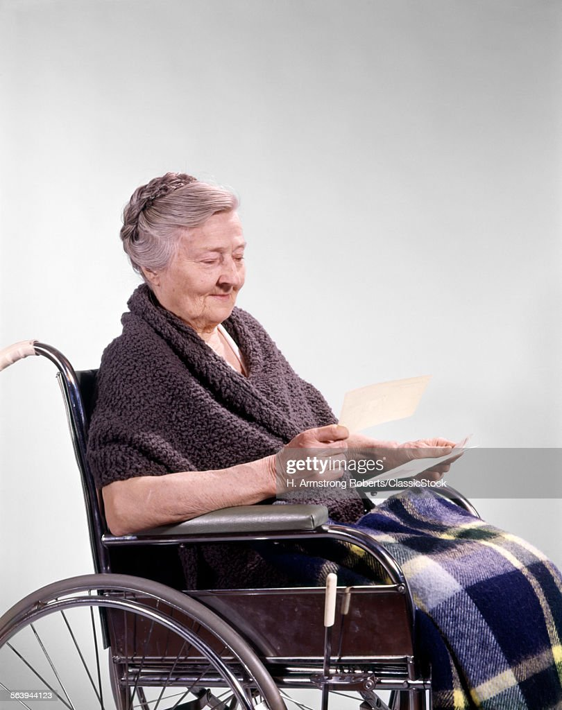 1960s SMILING SENIOR... : Stock Photo