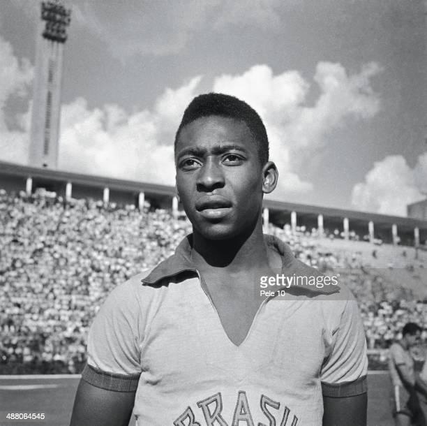 Soccer player Pele circa 1960