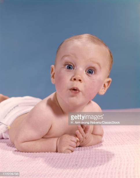1960s SURPRISED BABY...