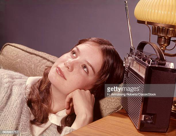 1960s TEENAGE GIRL WITH...