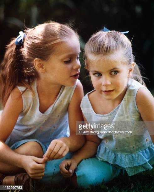 1960s TWO CUTE BLOND GIRLS...