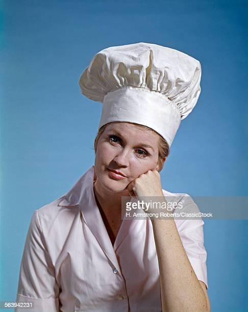 1960s WOMAN CHEF WEAR...